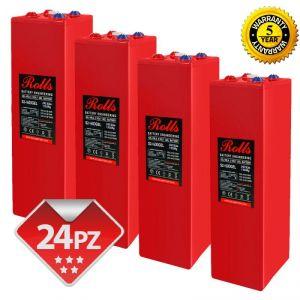 Rolls OpzV GEL Battery Bank 48 Volt 89.76 kWhC100 #200ROLLSS21600GEL