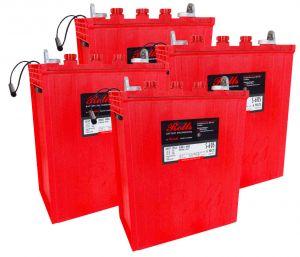 Rolls S605 Serie 4000 Banco Batterie 24 Volt 14.52 kWh C100 #200ROLLSS605-24V