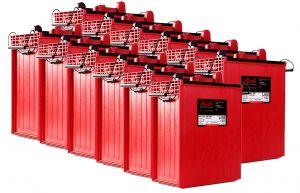 Rolls S1450 Serie 4000 Banco Batterie 24 Volt 34.84 kWh C100 #200ROLLSS1450-24V
