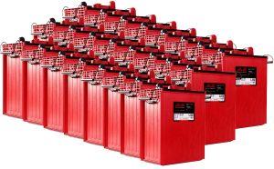 Rolls S1450 Serie 4000 Banco Batterie 48 Volt 69.69 kWh C100 #200ROLLSS1450-48V