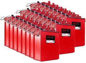 Rolls S1660 Serie 4000 Banco Batterie 48 Volt 79.68 kWh C100 #200ROLLSS1660-48V