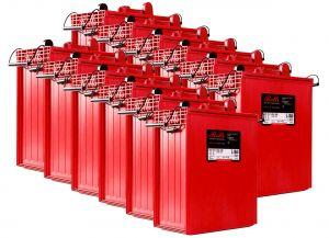 Rolls S1860 Serie 4000 Banco Batterie 24 Volt 44.85 kWh C100 #200ROLLSS1860-24V
