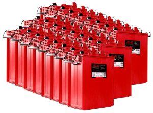 Rolls S1860 Serie 4000 Banco Batterie 48 Volt 89.71 kWh C100 #200ROLLSS1860-48V