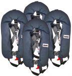 Set of 4 Self Inflatable Life Jackets Marinepool 150N #N91955004010