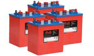 Rolls S320 Serie 4000 Banco Batterie 24 Volt 7.68 kWh C100 #200ROLLSS320-24V
