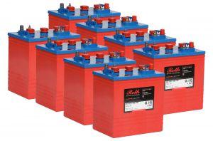 Rolls S320 4000 Series Battery Bank 48 Volt 15.36 kWhC100 #200ROLLSS320-48V