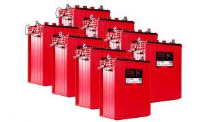 Rolls S480 Serie 4000 Banco Batterie 48 Volt 21.55 kWh C100 #200ROLLSS480-48V