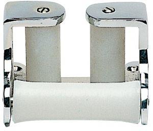 Triple-roller chain fairlead, chromed brass  #OS0134500