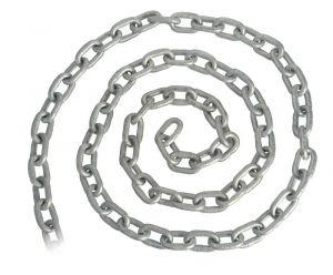 Galvanised Genoese chain 8 mm x 50 m  #OS0137208-050